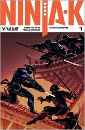 Ninja-K #1 Cover B - Troya
