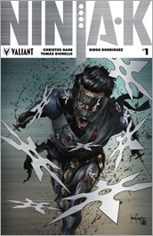 Ninja-K #1 Cover - Suayan Metal Variant