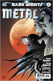 Dark Nights: Metal #2 Cover - Kubert Variant