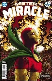 Mister Miracle #2 Cover