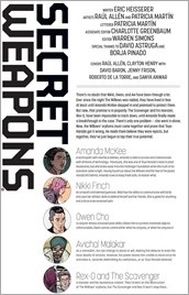 Secret Weapons #4 Preview 1