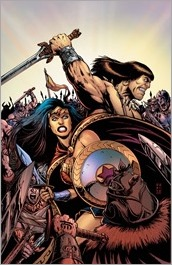 Wonder Woman/Conan #1 Cover