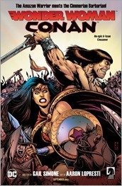 Wonder Woman/Conan #1 Ad