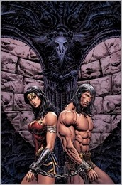 Wonder Woman/Conan #1 Cover - Sharp Variant