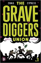The Gravediggers Union #1 Cover