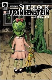 Sherlock Frankenstein & The Legion of Evil: From the World of Black Hammer #2 Cover - Ormston Variant