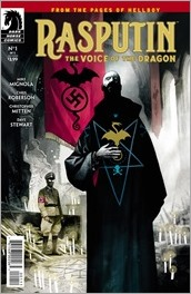 Rasputin: The Voice Of The Dragon #1 Cover
