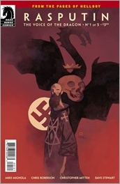 Rasputin: The Voice Of The Dragon #1 Cover - Mignola Variant