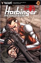 Harbinger Renegade #0 Cover - Evans Variant