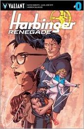 Harbinger Renegade #0 Cover - Tiesma Variant
