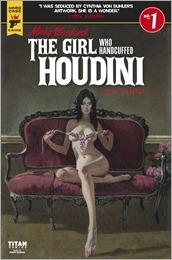 Minky Woodcock: The Girl Who Handcuffed Houdini #1 Cover B - McGinnis