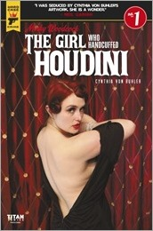 Minky Woodcock: The Girl Who Handcuffed Houdini #1 Cover D - Photo