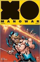 X-O Manowar #11 Cover B - Camuncoli