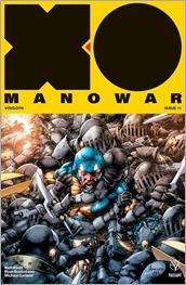 X-O Manowar #11 Cover - Anacleto Variant