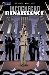 Incognegro: Renaissance #1 Cover
