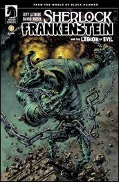 Sherlock Frankenstein & The Legion of Evil: From The World of Black Hammer #3 Cover - Fegrado Variant