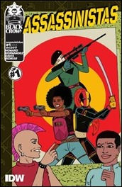Assassinistas #1 Cover