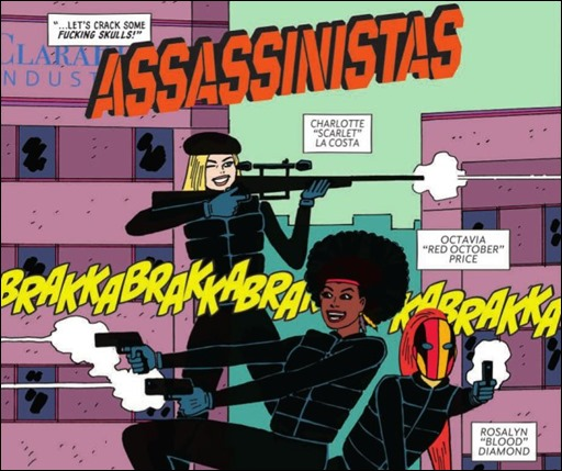 Assassinistas #1