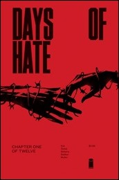 Days of Hate #1 Cover