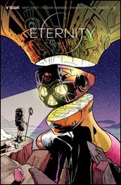 Eternity #3 Cover - Pollina Variant