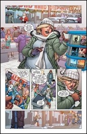 Faith's Winter Wonderland Special #1 Preview 2
