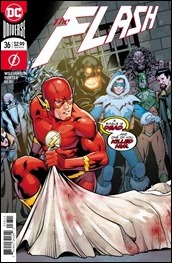 The Flash #36 Cover - Kitson