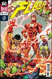 The Flash #36 Cover - Porter Variant