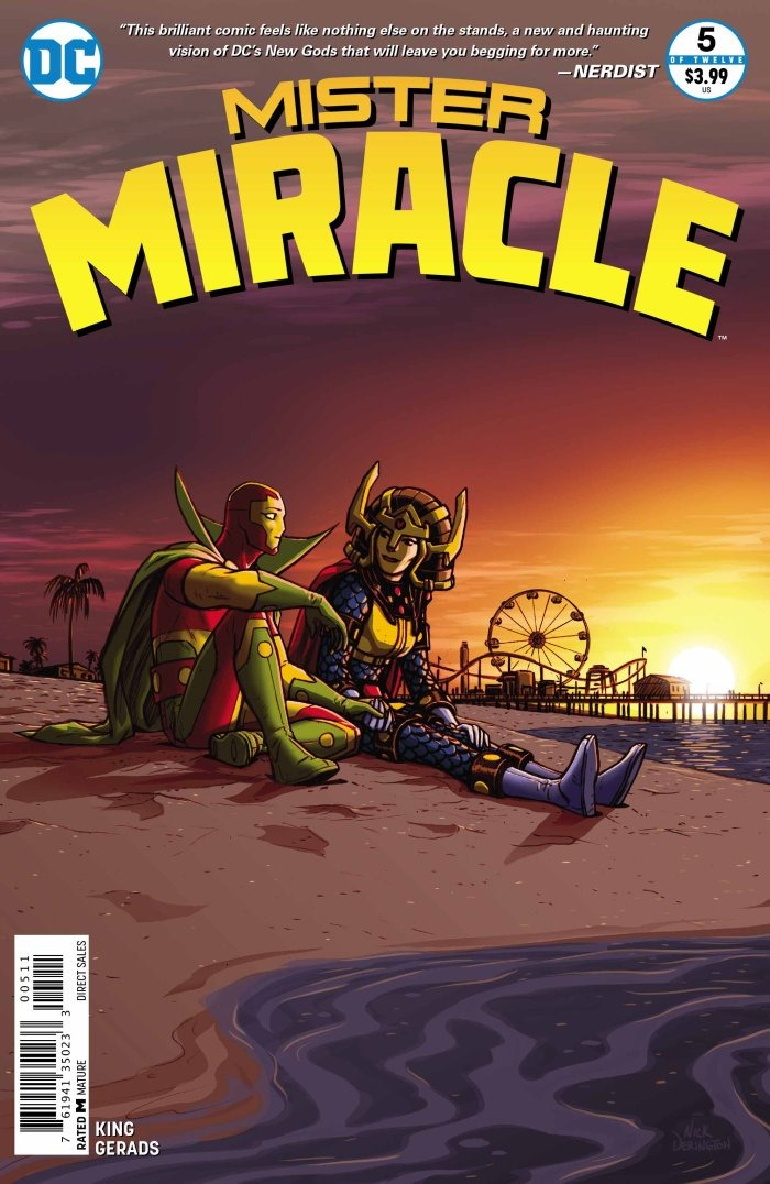 preview  mister miracle  5 by king  u0026 gerads  dc
