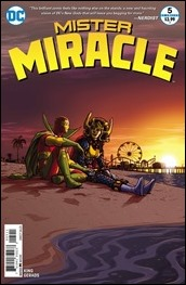 Mister Miracle #5 Cover