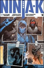 Ninja-K #2 Cover A - Hairsine