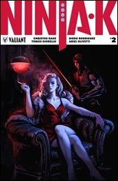 Ninja-K #2 Cover B - Troya