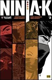 Ninja-K #2 Cover - Tonci Variant