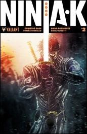 Ninja-K #2 Cover - Templesmith Variant