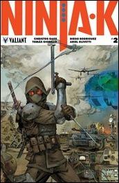 Ninja-K #2 Cover - Rocafort Variant