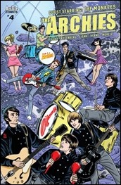 The Archies #4 Cover - Allred Variant