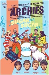 The Archies #4 Cover - Smallwood