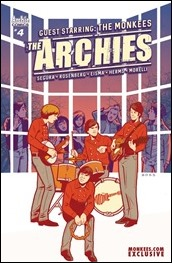 The Archies #4 Cover - Monkees Exclusive