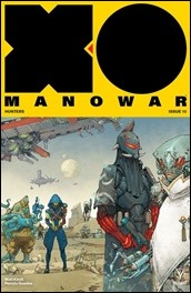 X-O Manowar #10 Cover B - Rocafort