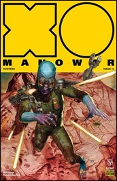 X-O Manowar #10 Cover - Guedes Pre-Order