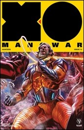 X-O Manowar #10 Cover - Massafera Icon Variant