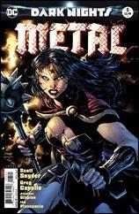 Dark Nights: Metal #5 Cover - Lee Variant