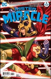 Mister Miracle #6 Cover