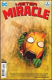 Mister Miracle #6 Cover - Gerads Variant