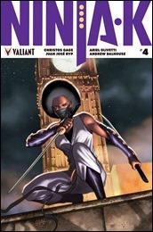 Ninja-K #4 Cover A - CAFU