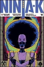 Ninja-K #4 Cover B - Pollina