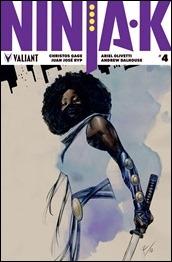 Ninja-K #4 Cover - de la Torre Variant