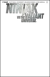 Ninjak vs. The Valiant Universe #1 Cover - Blank