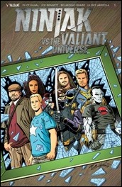 Ninjak vs. The Valiant Universe #1 Cover - Layton Variant