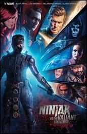 Ninjak vs. The Valiant Universe #1 Cover - Photo Variant