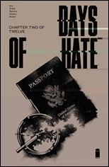 Days of Hate #2 Cover